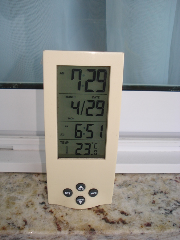 Registro de temperatura