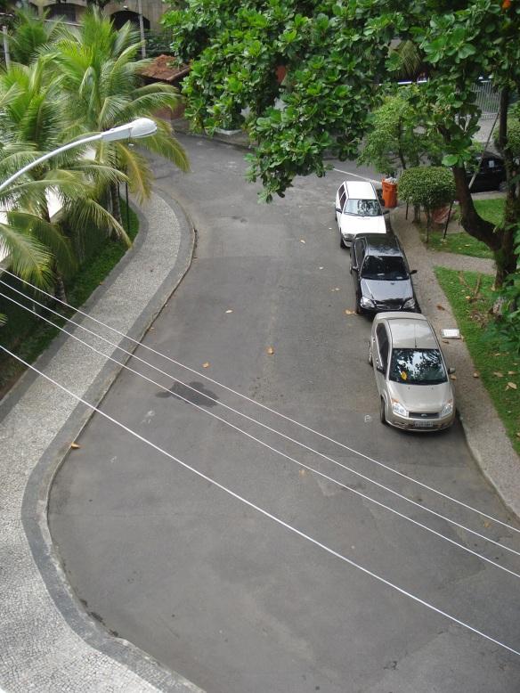 Rua e calçadas